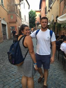a parents perspective on studying abroad, studying abroad in Rome, John cabot university students,