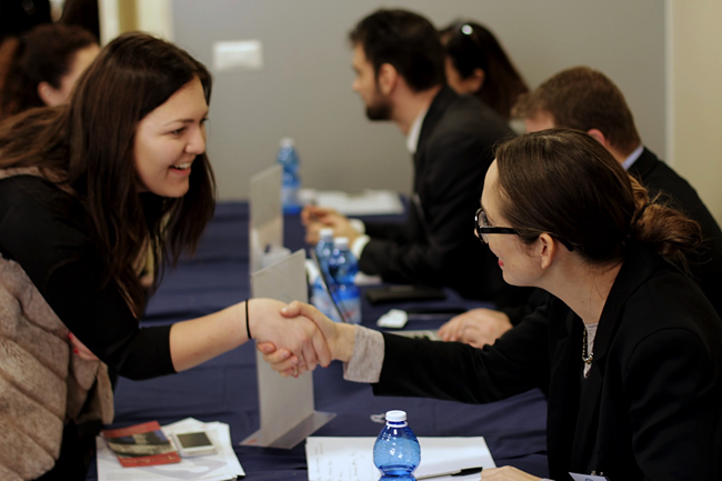 JCU events, The Institute for Entrepreneurship, Get Hands-On Experience While You Study in Rome, JCU career opportunities, study abroad in Rome, Why it is important to study abroad, hands on experience for university students, John cabot career fair